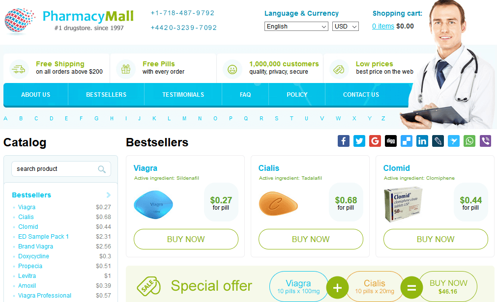 Pharmacy Mall, A Reliable Online Drugstore