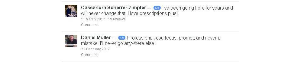 Prescriptions Plus Pharmacy Reviews