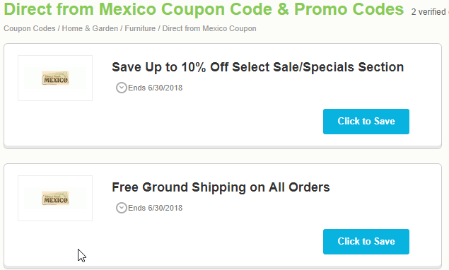 Mexican Drugstore Promo Codes