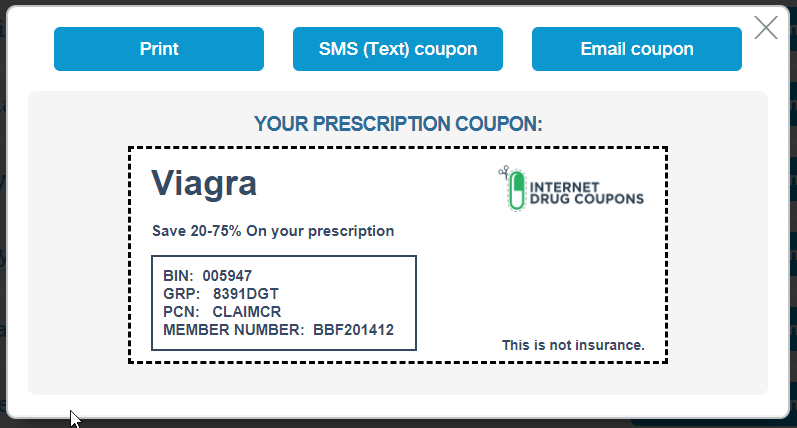 Internet Drug Coupons Viagra Coupon