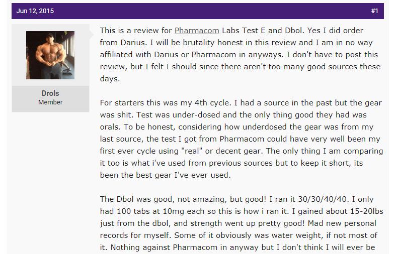 Pharmacom Labs Reviews