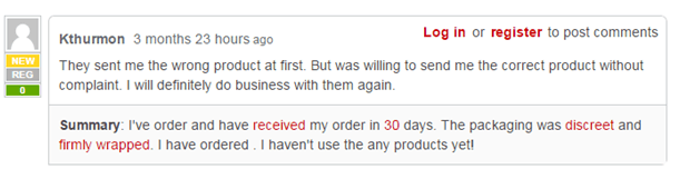 According to the customer known as Kthurmon, the Legalonlinepharmacy sent him the wrong medicine initially