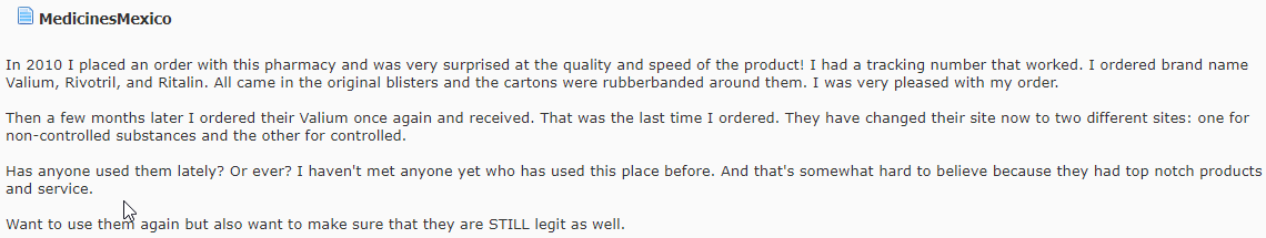 Mexican Drugstore Review