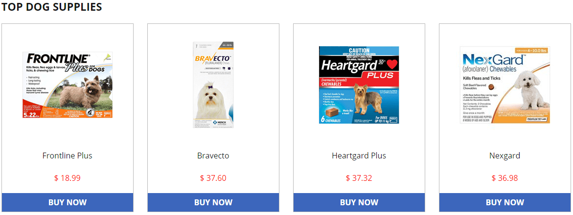 Budget Pet Care Products